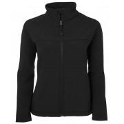 Ladies Layer Soft Shell Jacket (Black)