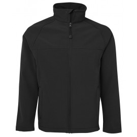 Mens Layer Soft Shell Jacket (Black)