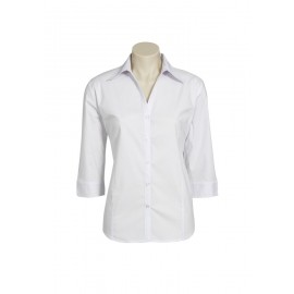 Ladies Education and Arts Shirt 3/4 (White)