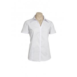 Ladies Education and Arts Shirt S/S (White)