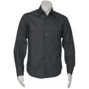 Mens Education and Arts Shirt - L/S (Charcoal)