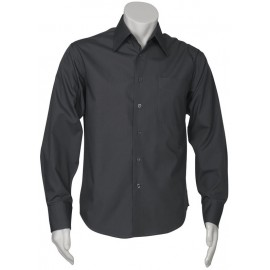Mens Education and Arts Shirt - L/S (Charcoal)