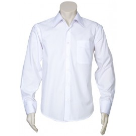 Mens Education and Arts Shirt - L/S (White)