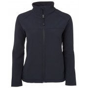 Ladies Navy Soft Shell Jacket