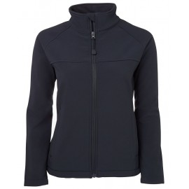Ladies Navy Soft Shell Jacket