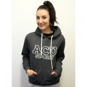 Womens Fitted Stretch Heather Hoodie