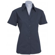 Ladies Education and Arts Shirt S/S (Charcoal)