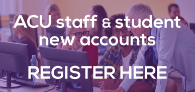 Register for a new staff or student account