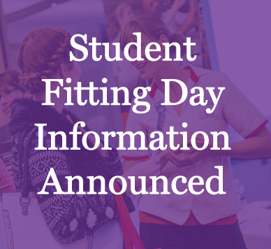Click to view fitting day information